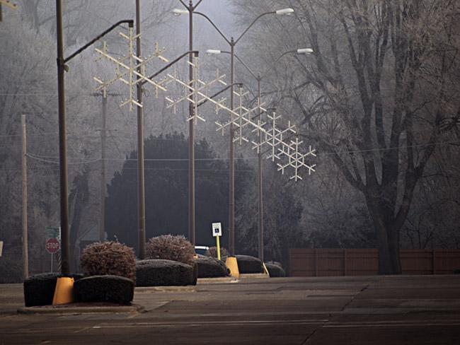 Christmas lights have to come down