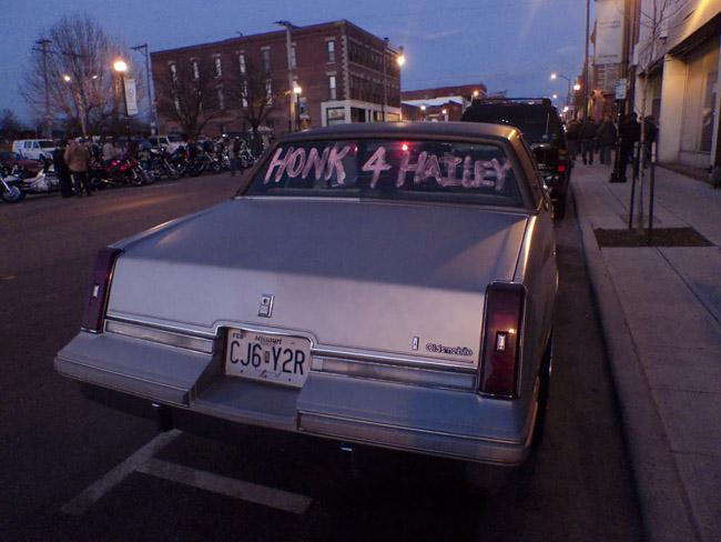 Honk 4 Hailey