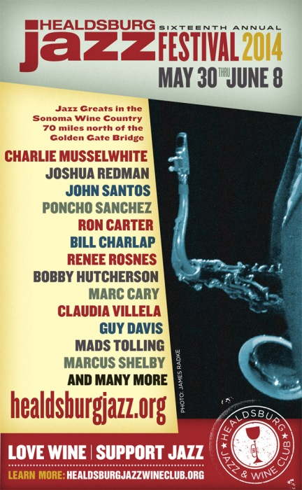 The 2014 Healdsburg Jazz Festival