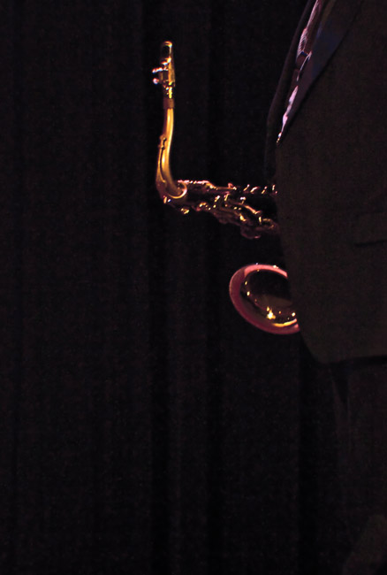 Composition with Ernie Watts' tenor saxophone