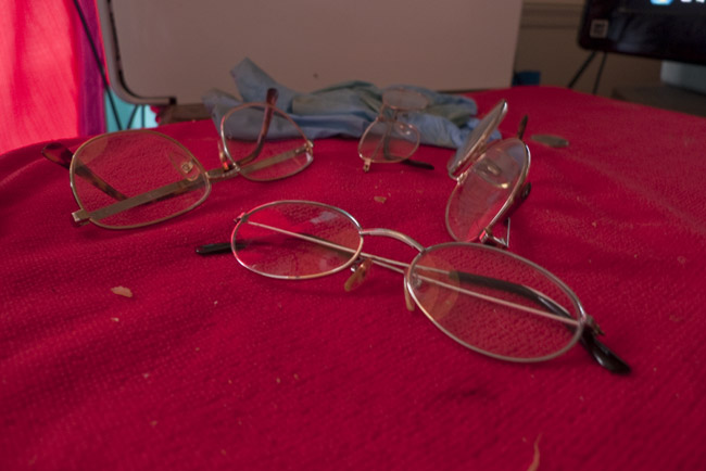 The signs of getting older, cheap reading glasses