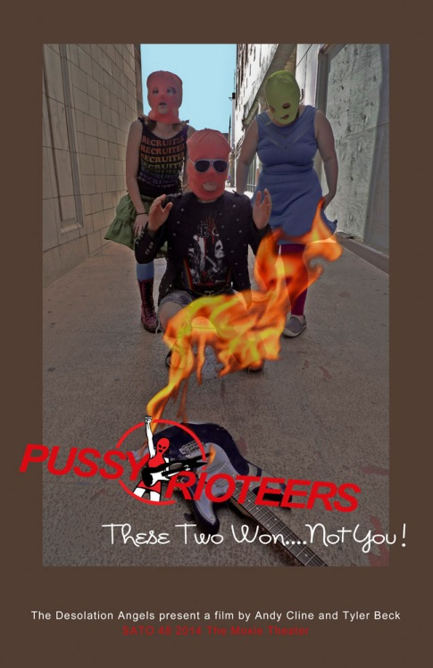 "A mockumentary poster for ""These Two Won....Not You"". This short film premier at the SATO 2014 Film Festival (April 25-27) at the Moxie in Springfield, Missouri."