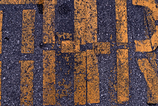 Parking Lot abstraction in Yellow and Grey