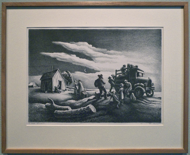 A print by Thomas Hart Benton