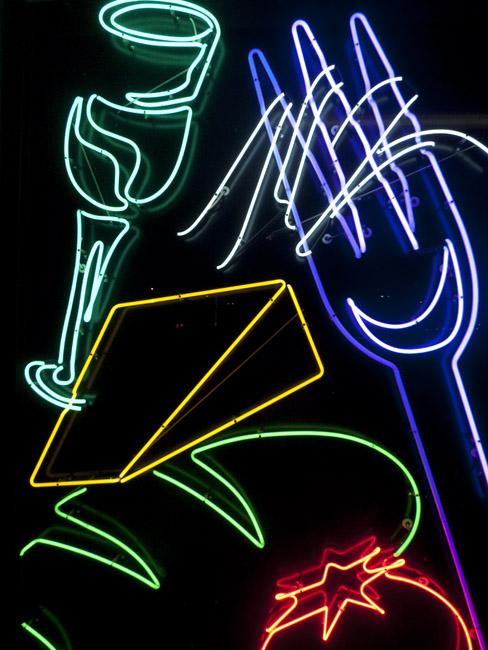 Neon Graphics at Avanzare's