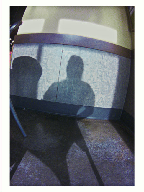 Just a Thursday morning shadow of myself