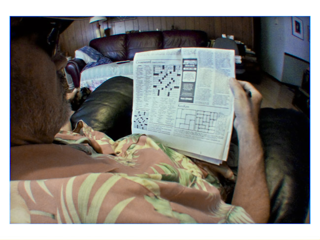 The Morning Crossword, a Little Cyclops photo