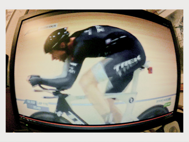 Jens Voigt and his Hour Record ride, a Little Cylops photo