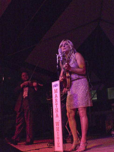 Rhonda Vincent played Missouri State University