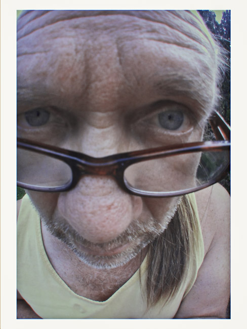 A fisheye self-portrait, a Little Cyclops photo