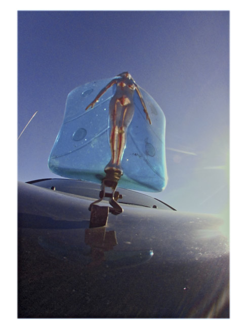 Winged iPhone case Hood Ornament, a Little Cyclops photo