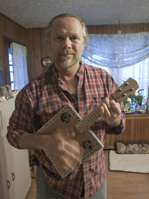 A Uke inspired by the outpouring of love for Lou Whitney
