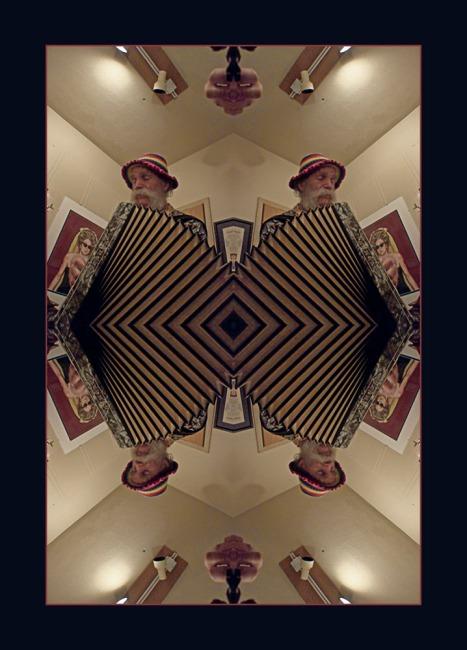 An Accordion Mandala of Chris Slatinsky