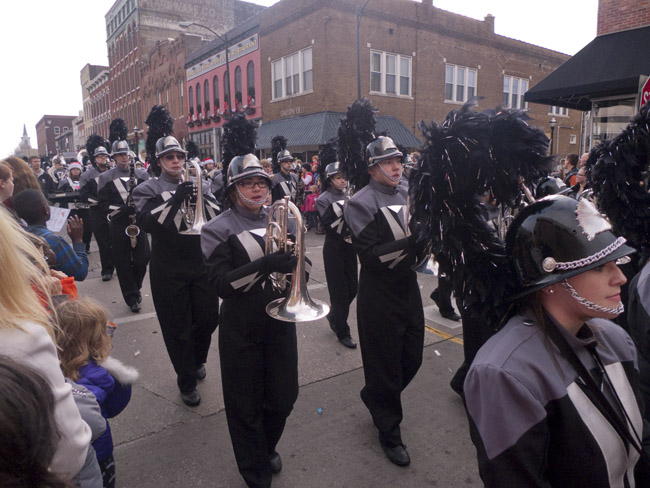 The Willard High School Marching Band