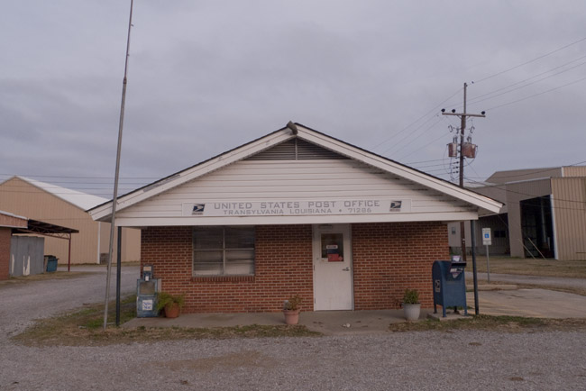 The Transylvania, Louisiana Post Office