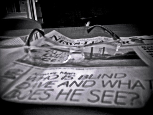 Reading Glasses, 100 Days of the Mundane