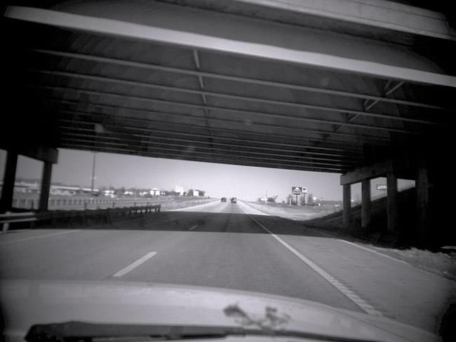 Highway Overpass, 100 Days of the Mundane