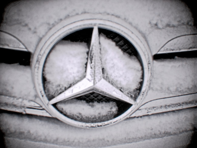 Mercedes Grill, 100 Days of the Mundane