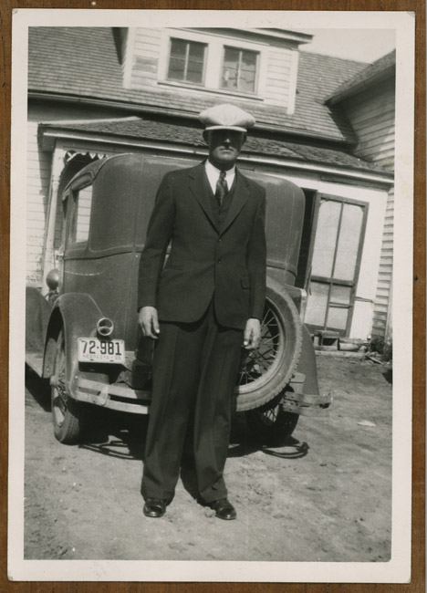A relative and his car