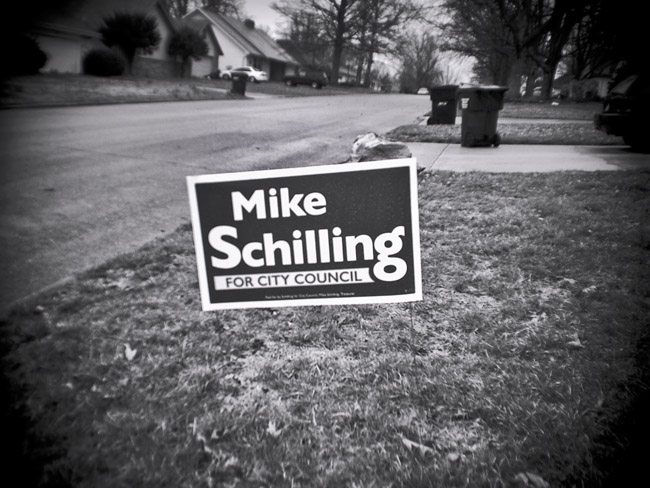 Campaign Yard Sign, 100 Days of the Mundane