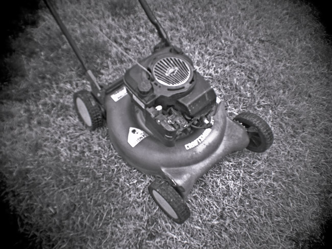 Old Lawn Mower, 100 Days of the Mundane