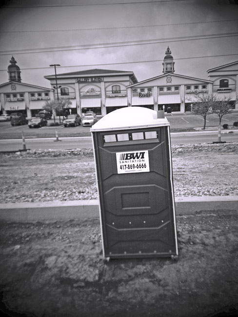 Porta Potty, 100 Days of the Mundane