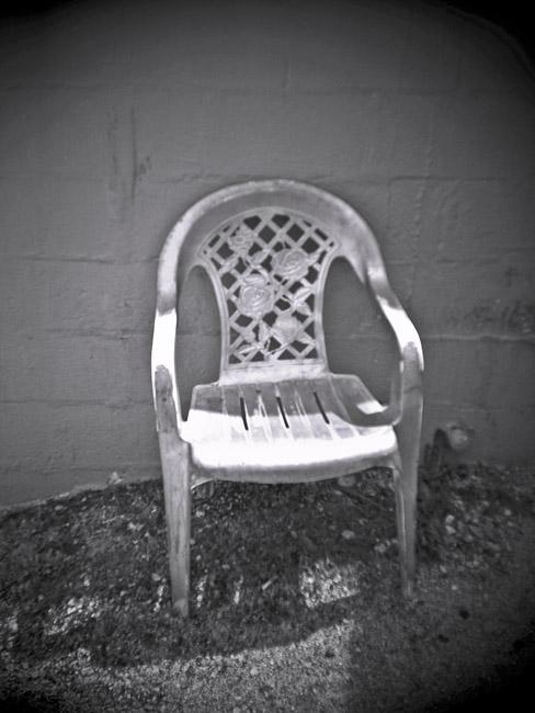 Plastic Garden Chair, 100 Photographs of the Mundane