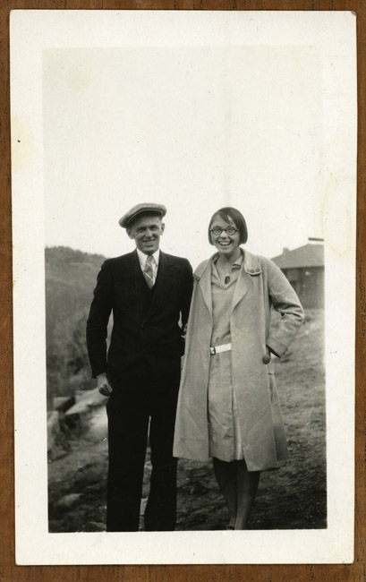 Earl and Bertha Kingston, siblings