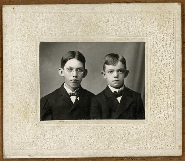 My grandfather Walter Gustav Sprick and his brother Heinrich Friederike Sprick