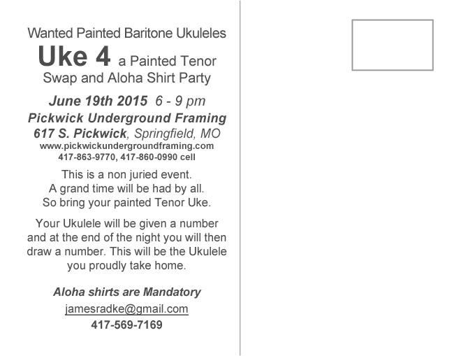 Back of Uke 4 postcard