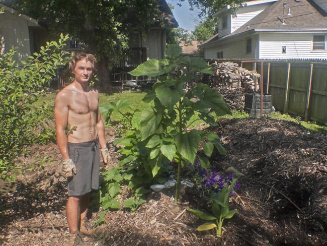 Steven Smallwood the urban farmer