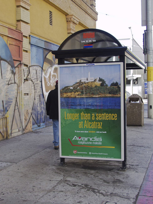 San Francisco Streetscape, circa 2002
