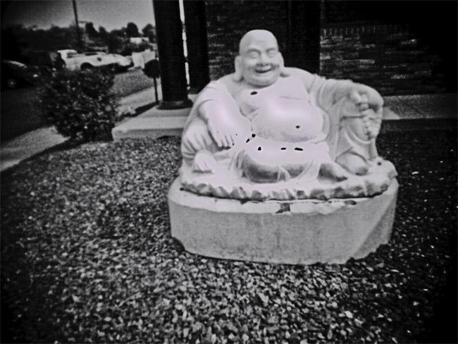 Marble Buddha, 100 Photographs of the Mundane