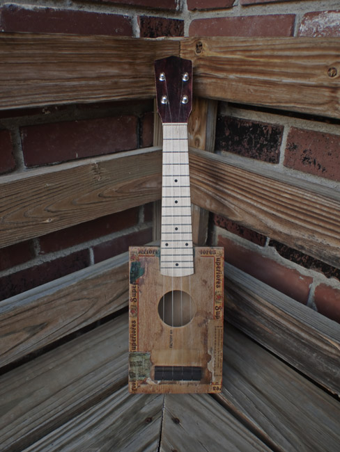 The front side of the Gehrs' 3-777's Uke