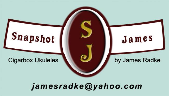 Cigarbox Ukulele label
