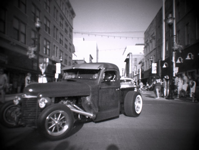 Rat Rod Pickup on Route 66
