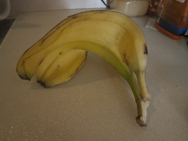 Countertop Composition,  Banana Peel