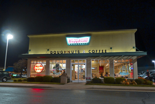 Springfield Signs - Krispy Kreme, International Coffee Day