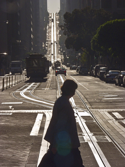 The streets of San Francisco were like a ghost town