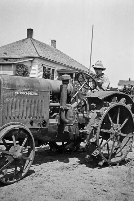 Family Photos - McCormick-Deering Tractor, circa 1930's