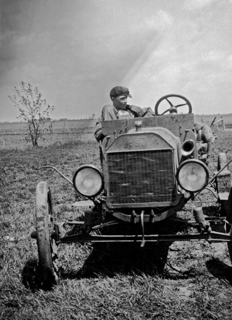 Family Photos - A Model T's second life on the farm, circa 1930's