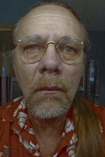 Self Portrait in my Grandfather Walter Sprick's glasses