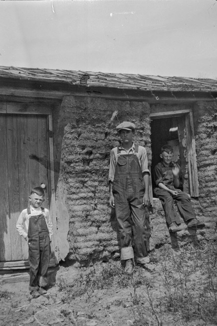 Family Photos - Sod house, circa 1930's