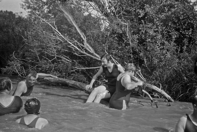 Family Photos - Swimming Hole, circa 1930's
