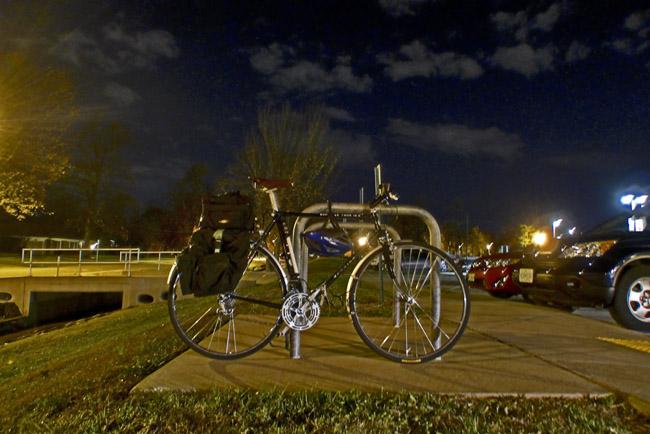 Bicycle Noir - Black Schwinn in the Night