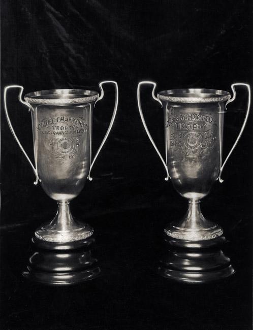 ColNeb (Colorado and Nebraska) Championship Trophies