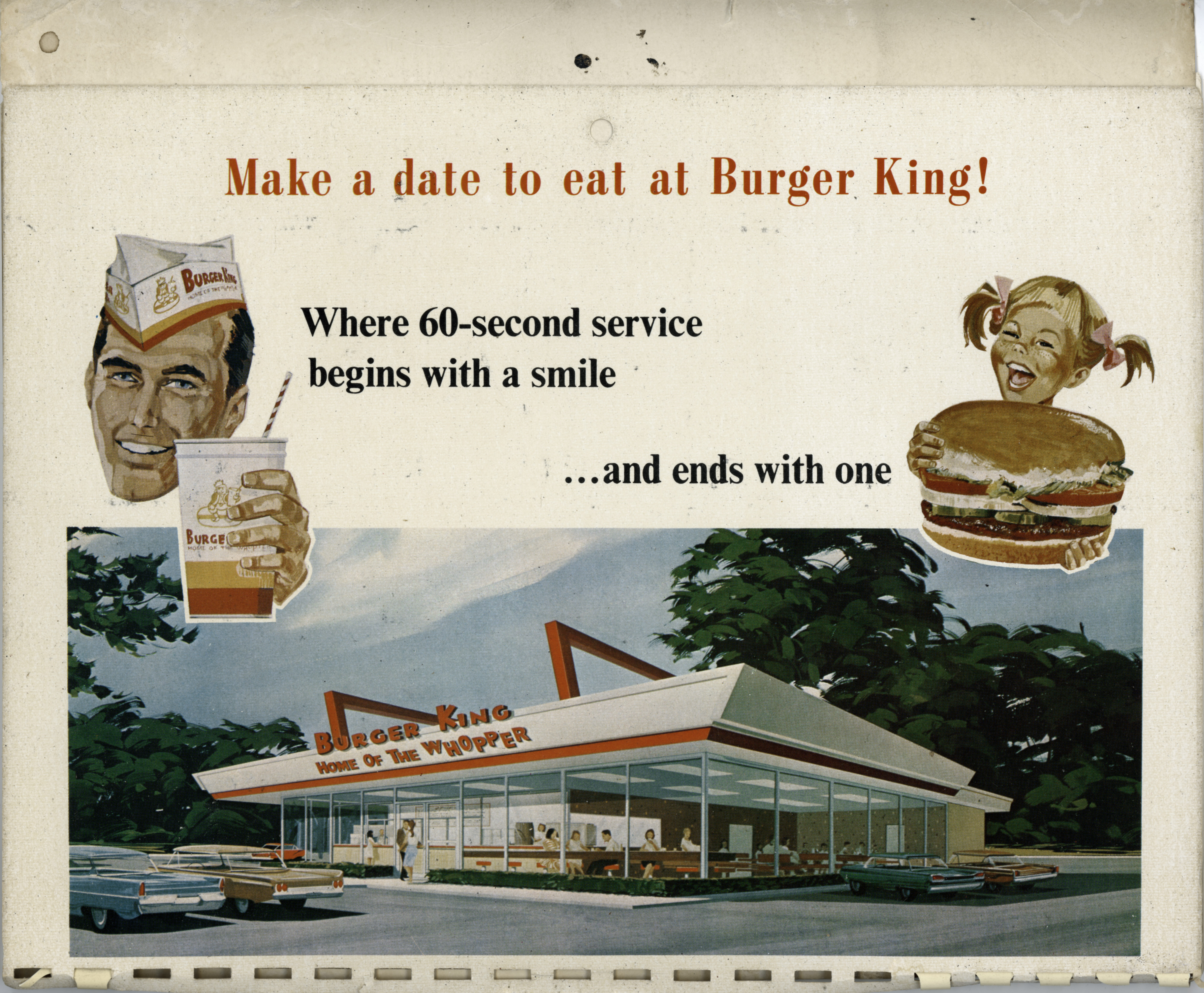 1968 and 1969 burger king calendars  u00ab james k  radke