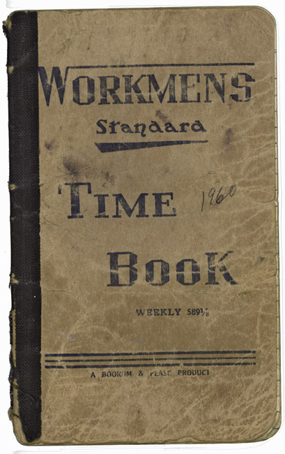 Workmens Time Book