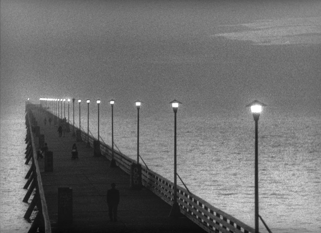 Berkeley Pier at dusk, circa 1997