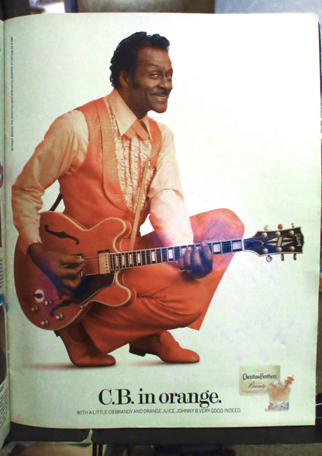 A gift of summer from the great Chuck Berry